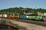 Southbound BNSF Yard Job Train